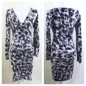 Banana Republic Wrap Fitted Dress